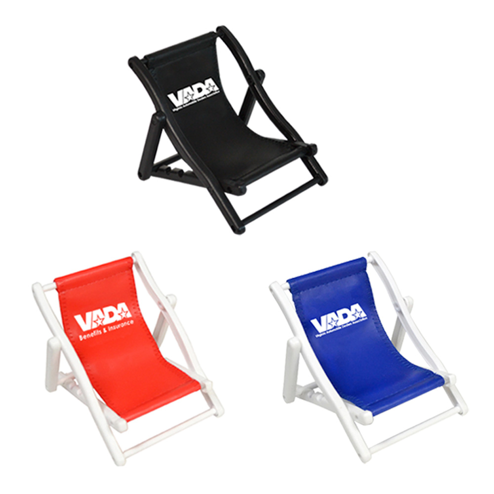 BEACH CHAIR CELL PHONE HOLDER- COLORED SLING