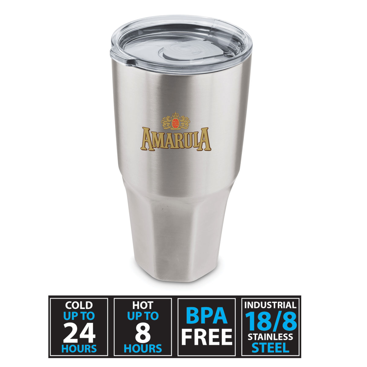 30 oz Mammoth Insulated Stainless Steel Tumbler