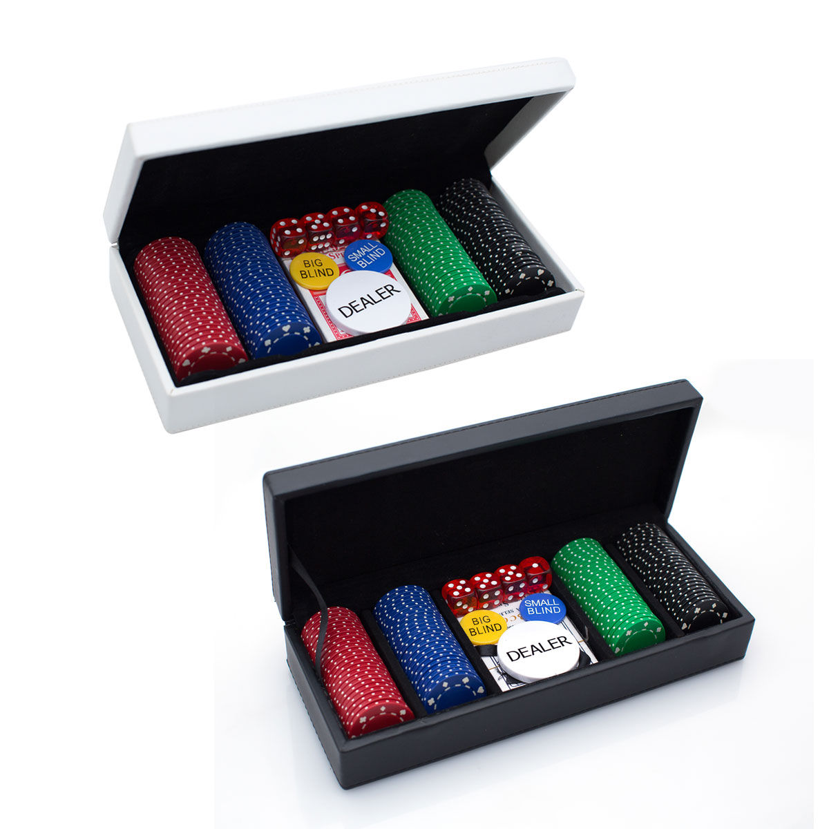 ROCCO 100 CHIP BOXED POKER SET