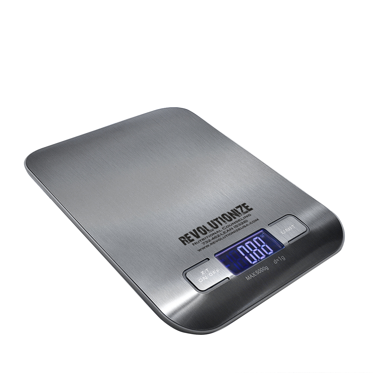 SILVER ELECTRONIC KITCHEN SCALE