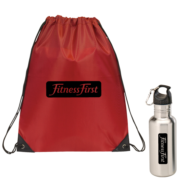 THIAGO BAG AND A BOTTLE SET