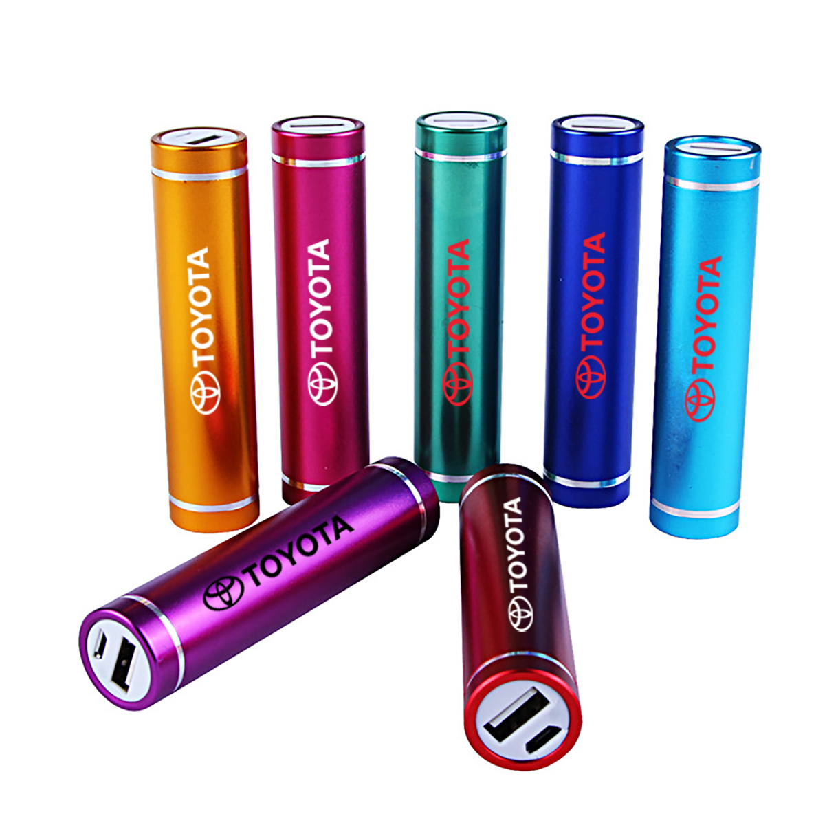 2600 MAH CYLINDRICAL PORTABLE MOBILE CHARGER