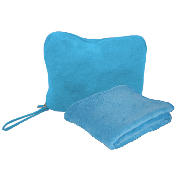 BLANKET PLUSH TRAVEL SET