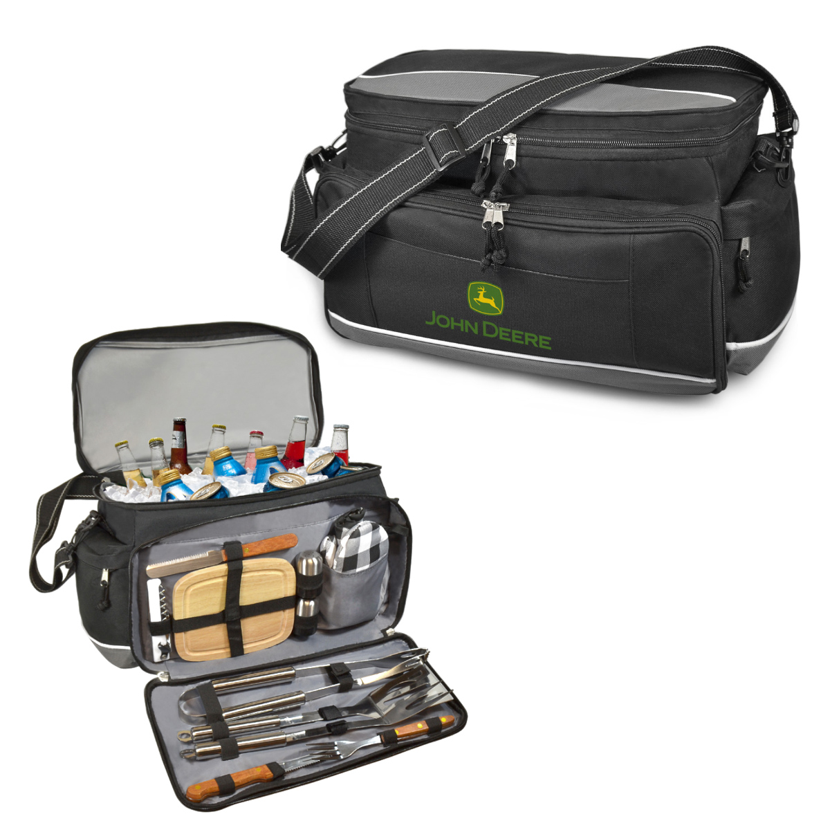 12PC BBQ SET & COOLER