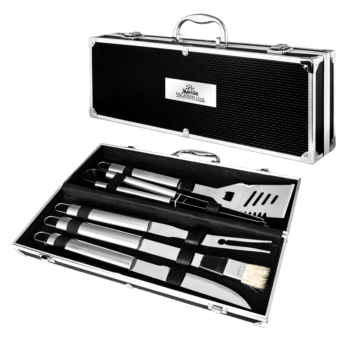5 PC STAINLESS STEEL BBQ GIFT SET