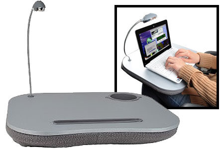 5 IN 1 LAP DESK WITH LIGHT